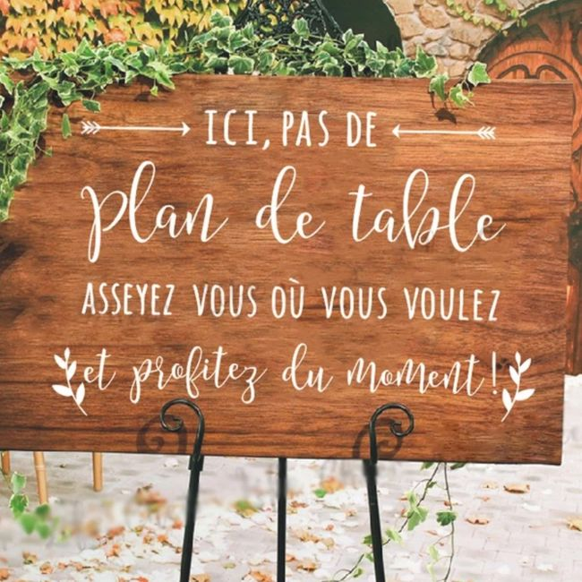 Plan de table 1