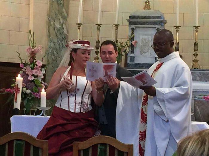 Cérémonie religieuse après divorce - 1