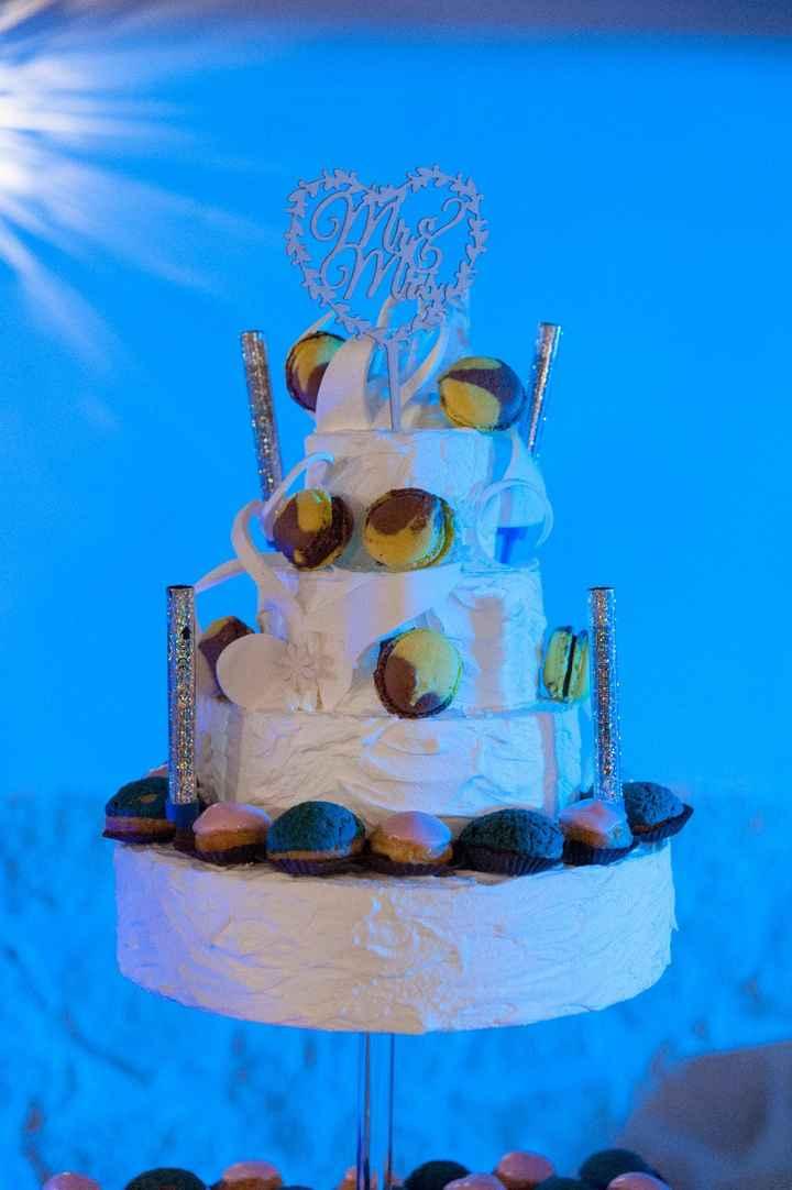 Faux Weeding Cake