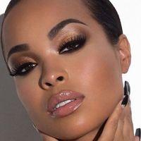 Maquillage nude prononcé vs simple - 2