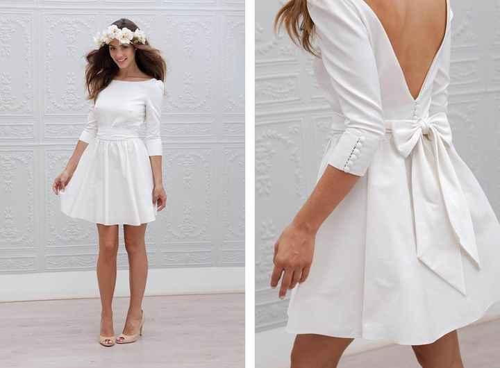 Les manches de la robe