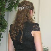 Coiffure mariée cheveux détachées - 1