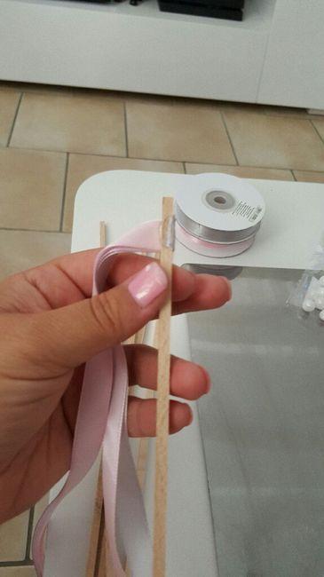 Baguette ruban entrée des maries - 2