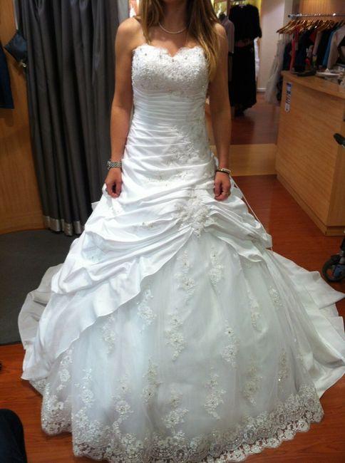 Robes de mariée mademoiselle amour pronuptia collection 2014 - 1