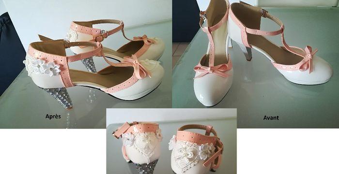 Crée ta robe de mariée : les chaussures 4