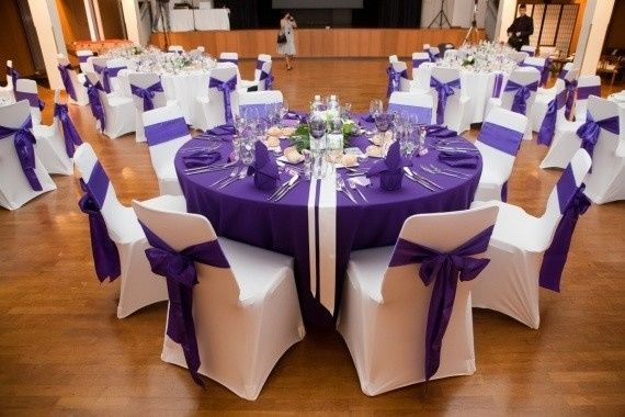 le club du mariage violet d coration forum. Black Bedroom Furniture Sets. Home Design Ideas