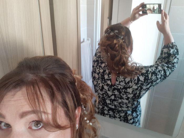 Longueur cheveux & chignon 2