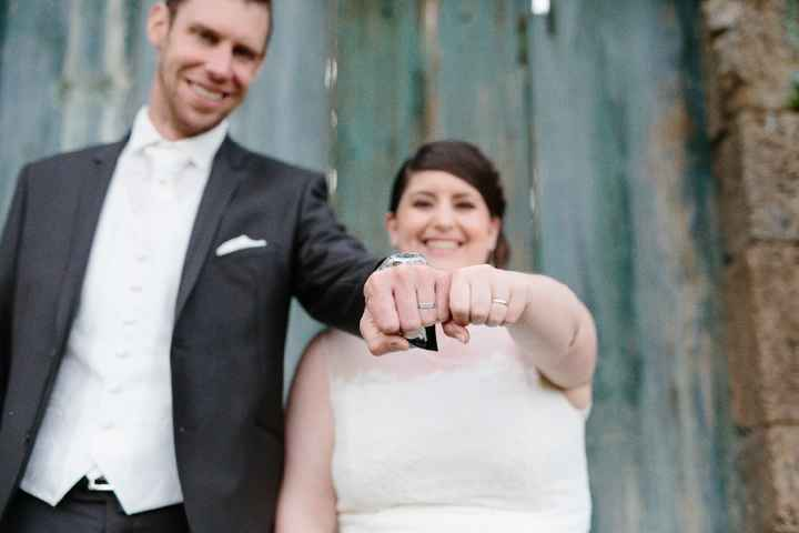 On est marié!!!!