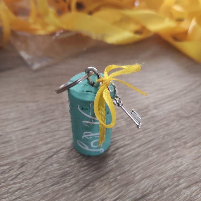 Déco porte clé (cadeau invités) 2