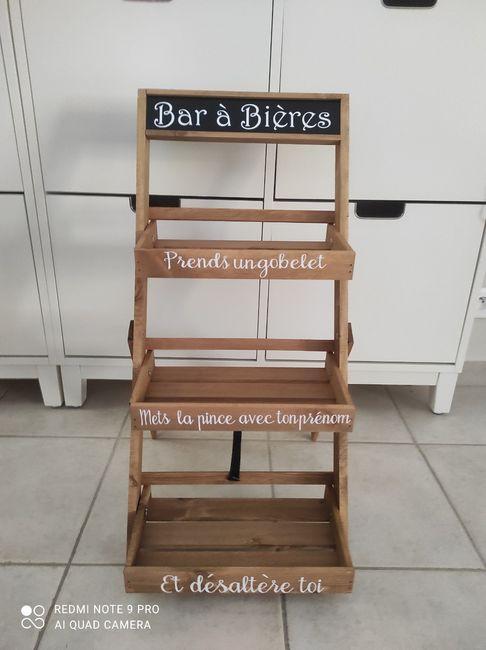 Porte prénom bar à bière 3