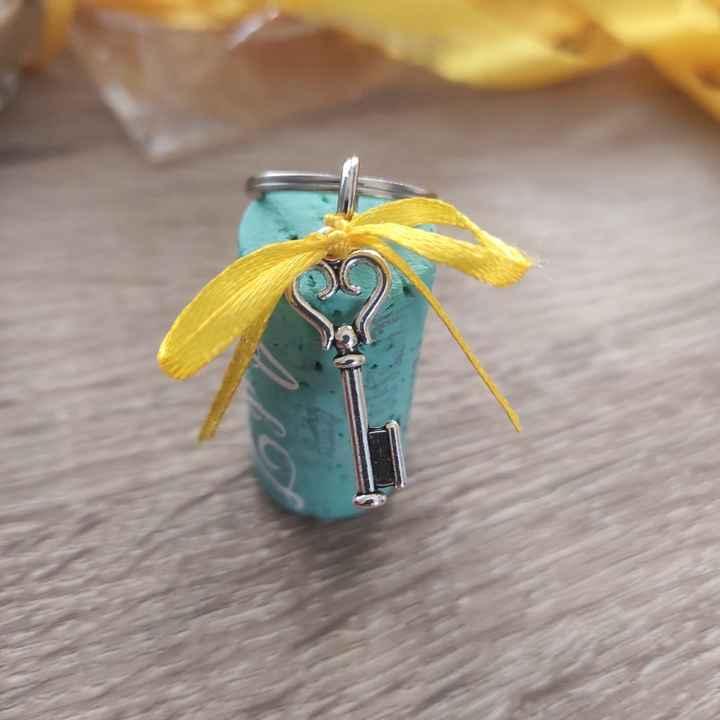 Déco porte clé (cadeau invités) - 1
