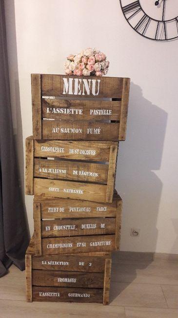 menu avec caisse pommes d coration forum. Black Bedroom Furniture Sets. Home Design Ideas