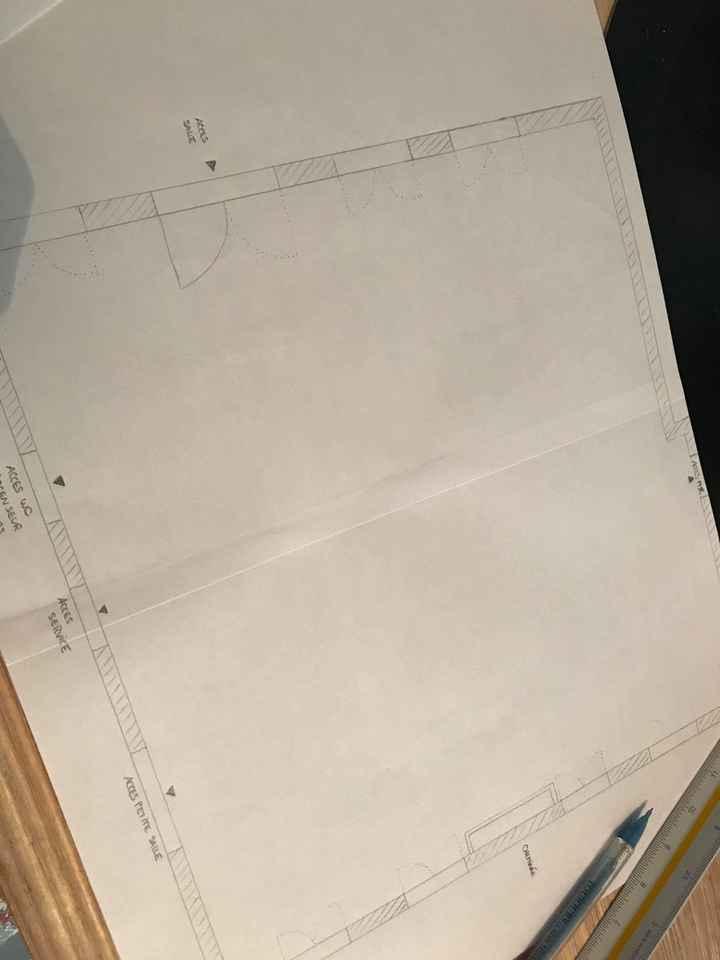 Plan de table et boulot - 2