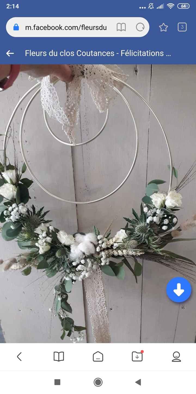 Bouquet de la mariée 1