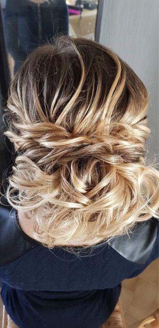 Premier Essai coiffure 👰🏼 - 2