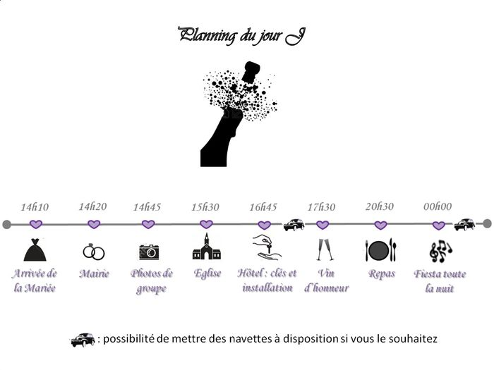 mon planning fa on timeline organisation du mariage forum. Black Bedroom Furniture Sets. Home Design Ideas
