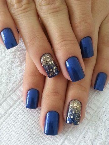 🌠🌠🌠 Inspiration bleue et or 🌠🌠🌠 - 1