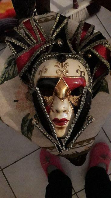 Masques de Venise trouvés - 7