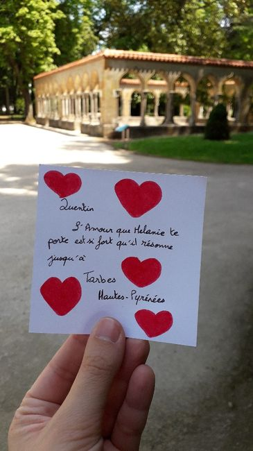 Love note 😍 - 2