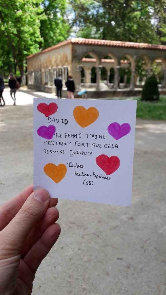 important Besoin de Love Note svp - 1