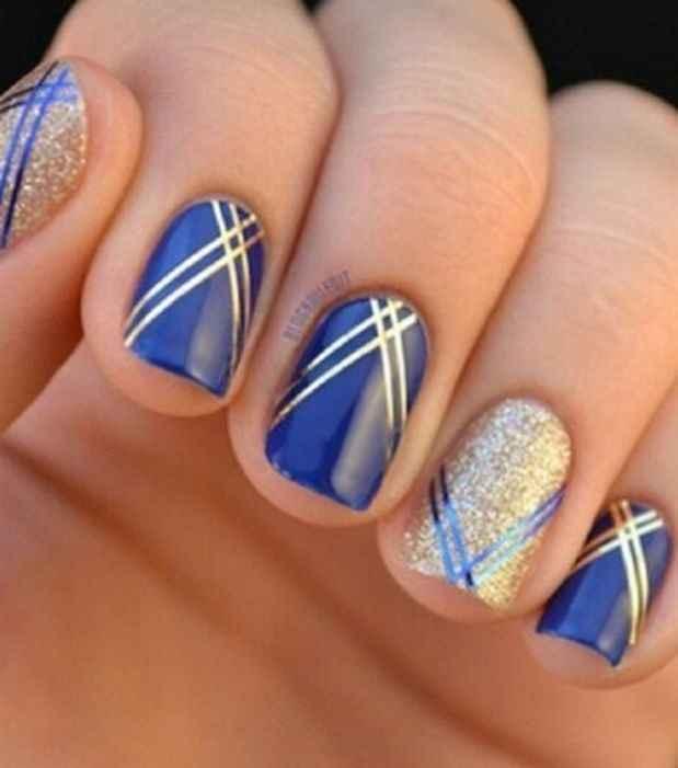 🌠🌠🌠 Inspiration bleue et or 🌠🌠🌠 - 2
