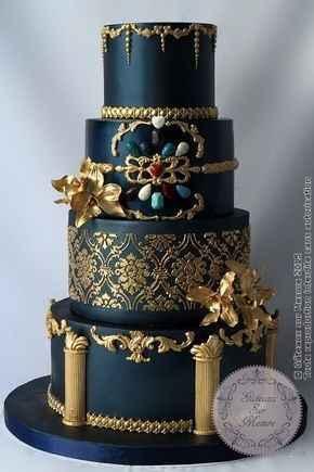 🌠🌠🌠 Inspiration bleue et or 🌠🌠🌠 - 11