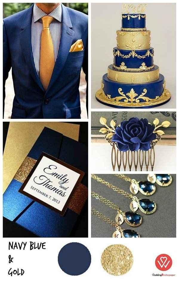 🌠🌠🌠 Inspiration bleue et or 🌠🌠🌠 - 19