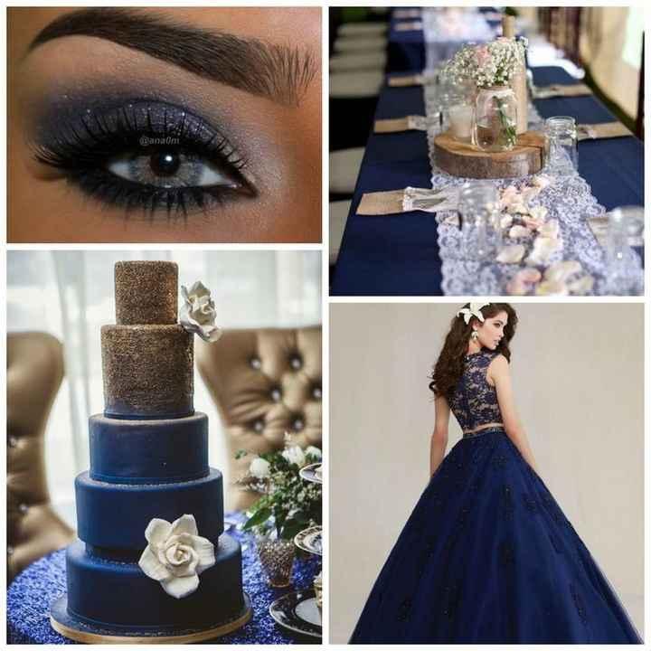 🌠🌠🌠 Inspiration bleue et or 🌠🌠🌠 - 24