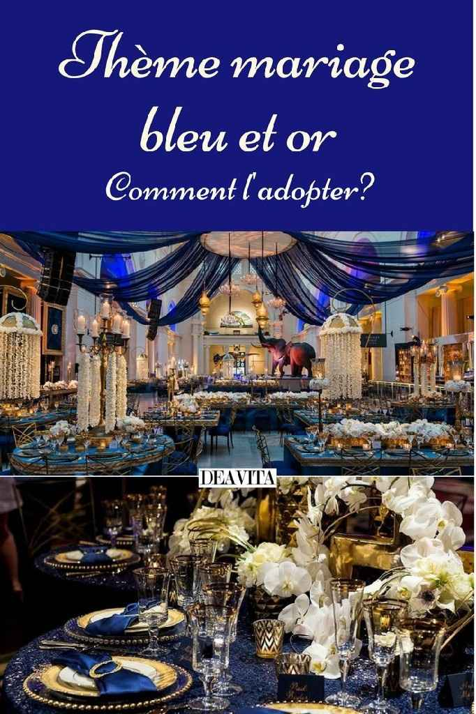🌠🌠🌠 Inspiration bleue et or 🌠🌠🌠 - 50