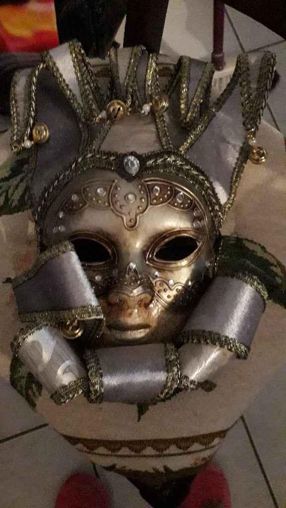 Masques de Venise trouvés - 5