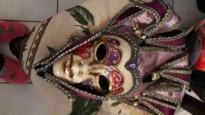 Masques de Venise trouvés - 6