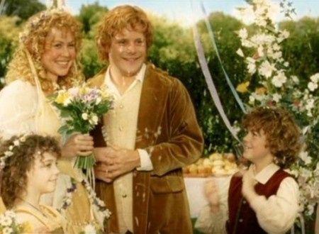 Mariage du seigneur des anneaux - Photo Mariages célèbres