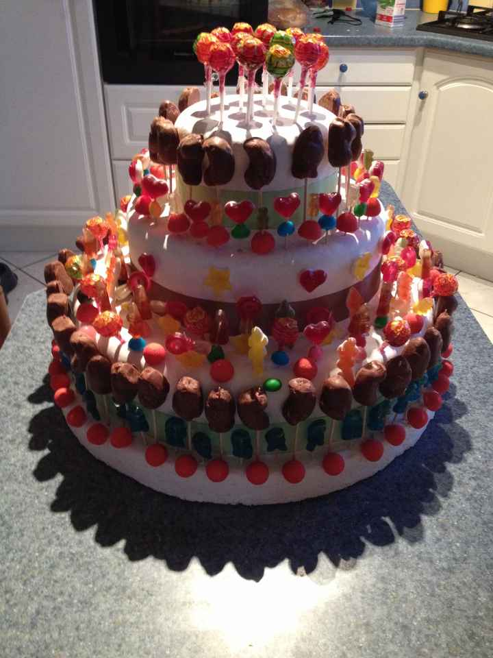 Candy cake - 1