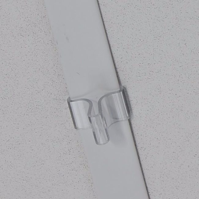 clip faux plafond