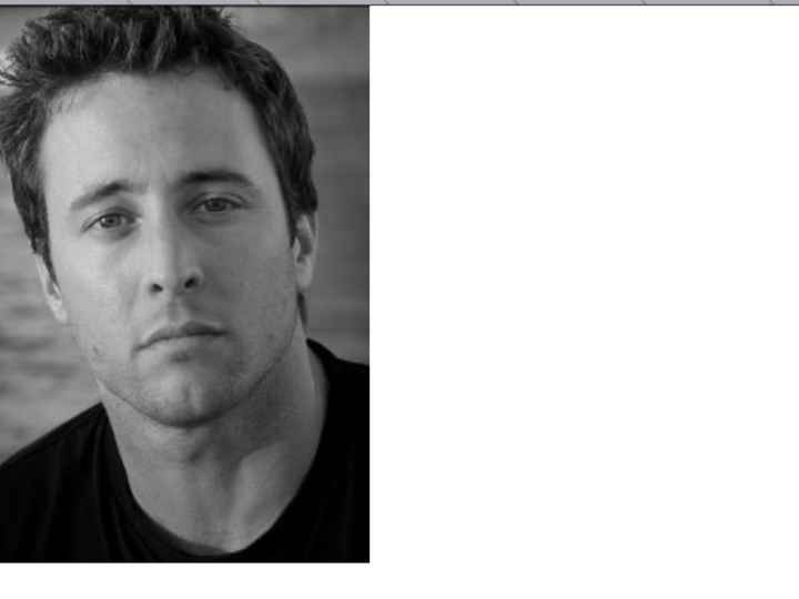 Alex o'o'loughlin