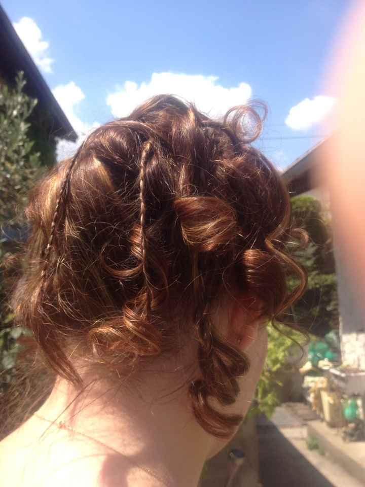 Ma coiffure .....
