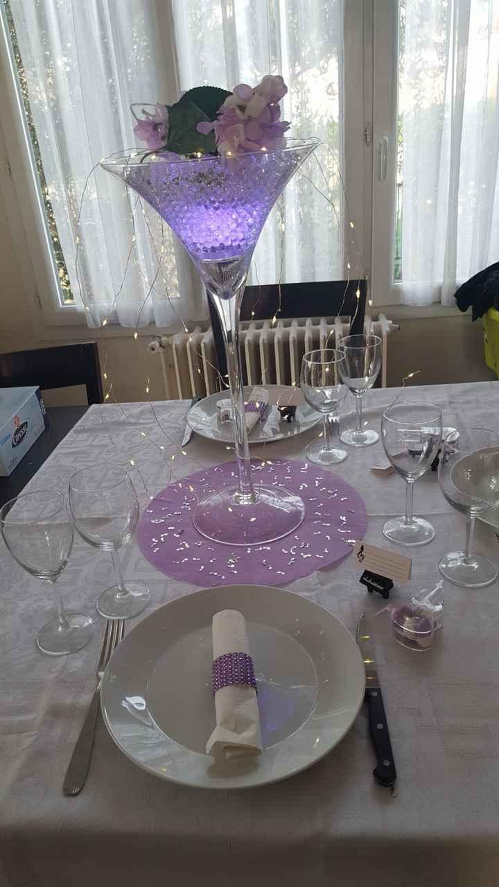 Essai de décoration de table! Qu'en pensez vous? - 1