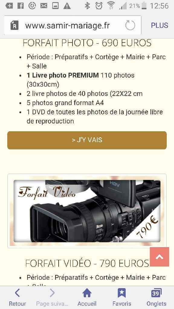 Plutôt photos ou vidéo ? - 2