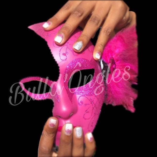 pour une mariée rose fushia sur le theme carnaval