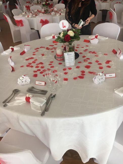 Mariage en rouge et blanc - 1