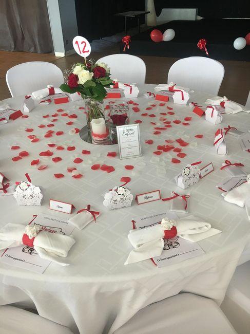 Mariage en rouge et blanc - 4