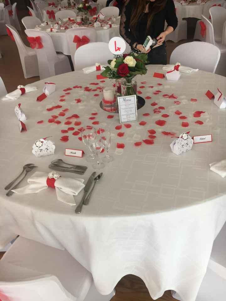 Mariage en rouge et blanc 4