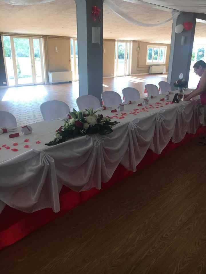 Mariage en rouge et blanc 6