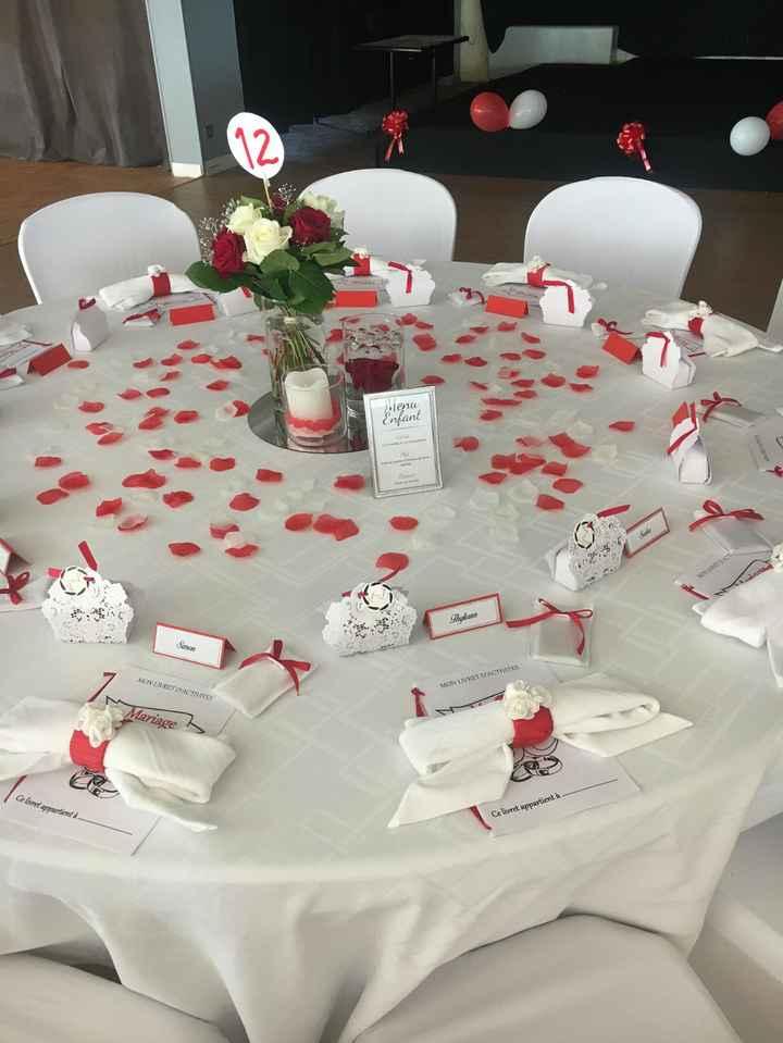 Mariage en rouge et blanc 7