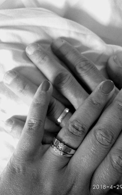 Vos bagues de fiançailles et alliance : montrez moi 6