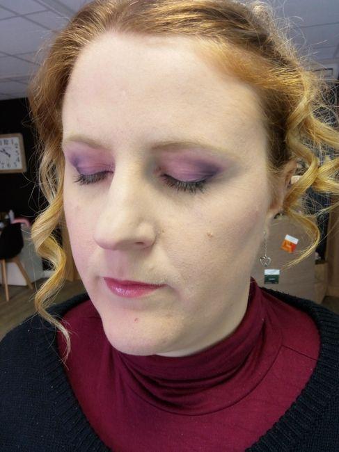 Essai maquillage + coiffure 7