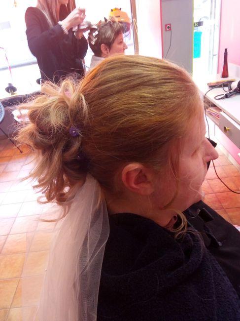 Essai maquillage + coiffure 14