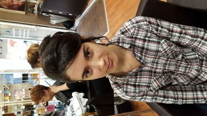 Essais coiffure maquillage - 3