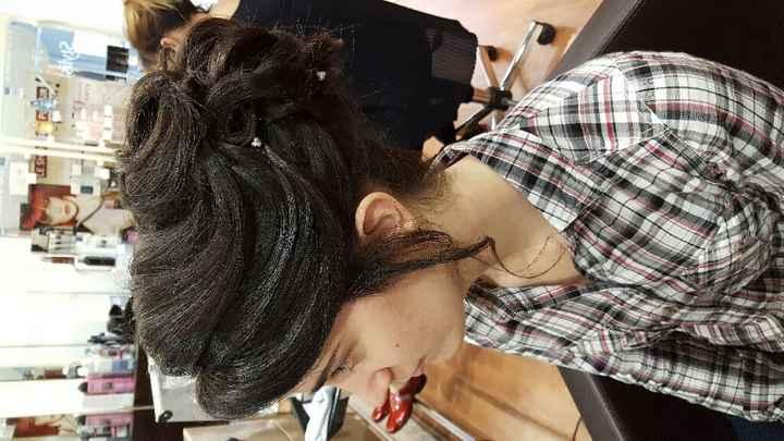 Essais coiffure maquillage - 4