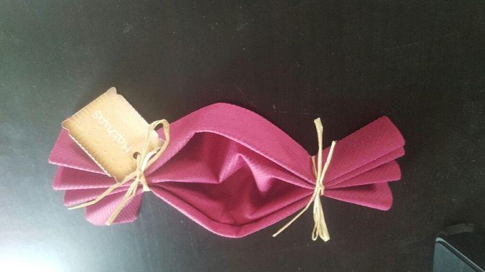 Pliage serviette theme gourmandise d coration forum - Pliage serviette bonbon ...